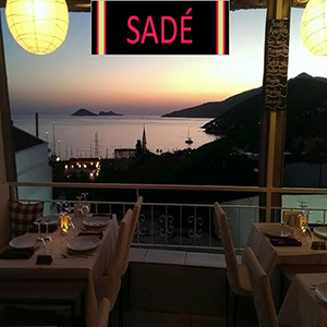 Sade - the best restaurants and bars in Kalkan