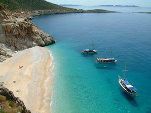 Holiday villas near Kaputas beach Kalkan